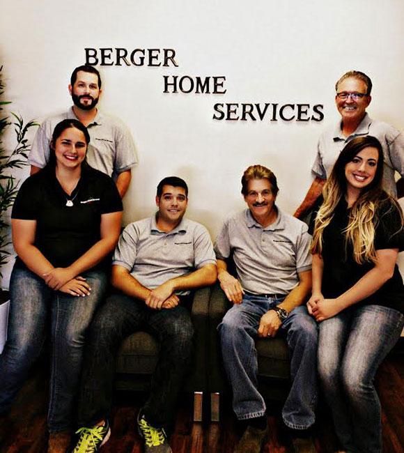 berger home services staff